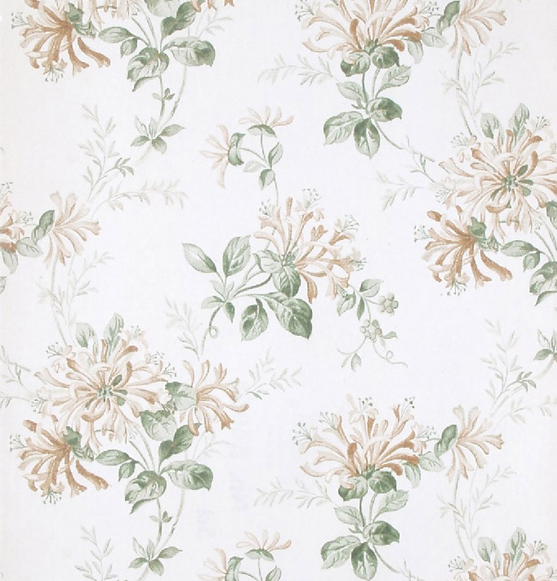 Laura Ashley Kitchen Wallpaper: Print With A Past: Honeysuckle Trail