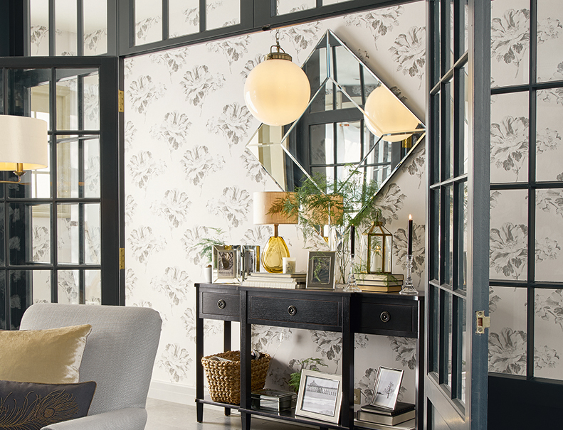 Floral Interiors With Laura Ashley