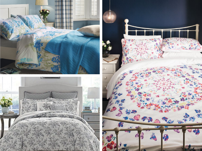 Before Holiday Guests Arrive, Laura Ashley Bluebell Bedding